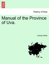 Manual of the Province of Uva.