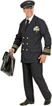 Pilotenkostuum voor mannen - Verkleedkleding - Medium