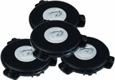 Dayton Audio TT25-16 PUCK Tactile Transducer Mini Bass Shaker Speaker 16 Ohm 4-Pack