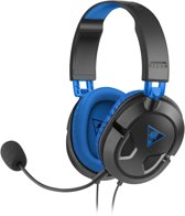 Turtle Beach Ear Force Recon 60P Wired Stereo Gaming Headset – Zwart (PS4 + PS3 + Xbox One + PC + Mac + Mobile)