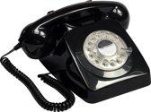 GPO 746ROTARYBLA Telefoon met draaischijf klassiek jaren '70 ontwerp