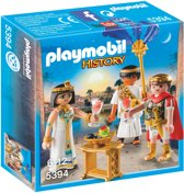PLAYMOBIL Caesar en Cleopatra- 5394