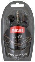 Maxell EB-98 Stereo Earphones kleur Zwart