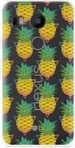 LG Nexus 5X Hoesje Pineapple