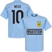 Argentinië MESSI Team T-Shirt - XS