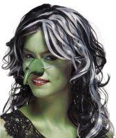 Halloween Heksen neus groen