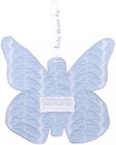 Baby Anne-Cy Porto Speendoekje Butterfly Cable Blue