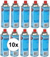 10x Kookstel gasflessen butaan gas - 10 stuks a 227 gram - gasbus navulling