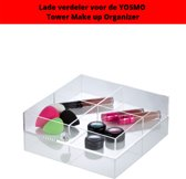 YOSMO Divider – Make up organizer – 4 vakken-  voor de YOSMO Tower