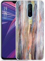 Oppo RX17 Pro Hoesje Wood Art II