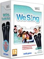 We Sing (incl. twee microfoons)