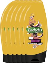 Badedas Feel Bubbly - 6 x 250 ml - Douchegel - Voordeelverpakking