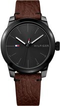 Tommy Hilfiger TH1791383 Horloge - Leer - Bruin - 42 mm