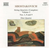 Shostakovich: String Quartets Vol 2 / eder Quartet