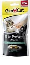 GimCat Nutri Pockets Dental - Kattensnack - 60 g