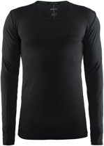 Craft Active Comfort Roundneck Ls Sportshirt Heren - Black Solid