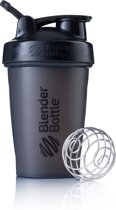 BlenderBottle Classic met oog - Eiwitshaker / Bidon - 590ml - Fullcolor Black