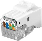 Goobay Keystone Cat5e UTP Toolless Wit network splitter