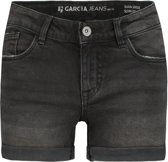 Garcia Meisjes Short Sara denim - dark used - Maat 146