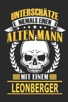 Untersch tze Niemals Einen Alten Mann Mit Einem Leonberger