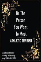 2019 - 2020 Athletic Trainer