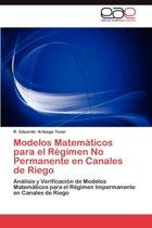 Modelos Matematicos Para El Regimen No Permanente En Canales de Riego