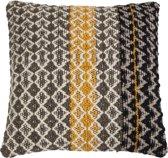 sierkussen Pillow Moose Grijs Zwart Geel