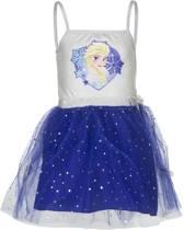 Disney Frozen blauwe Elsa jurk maat 116/122