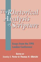 Rhetorical Analysis of Scripture