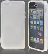 Silicon Book Hoesje voor iPhone 5 Transparant