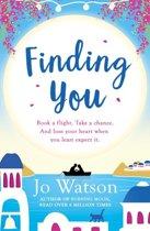 Boek cover Finding You van Jo Watson (Onbekend)