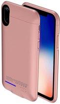 BestCases.nl Roze smart batterij hoesje Apple iPhone X