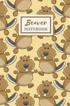 Biber Notizbuch - Niedliches Geschenkjournal Für Jungen - Beaver Notebook - Cute Gift Journal for Boys