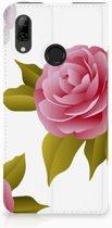 Huawei P Smart (2019) Uniek Standcase Hoesje Roses