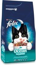 FELIX Seaside Sensations - Zalm, Koolvis & Groenten - Kattenvoer - 4 kg