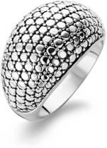 TI SENTO Milano Ring 1991SD - Maat 52 (16,5 mm) - Gerhodineerd Sterling Zilver