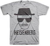 T-shirt Breaking Bad Heisenberg grijs S