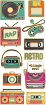 Paper House Stickers Retro Electrics