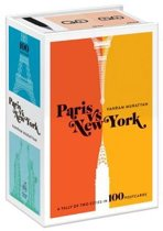 Paris Versus New York Postcard Box