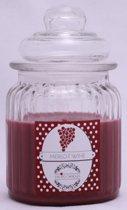 Geurkaars merlot wine groot (200ml)