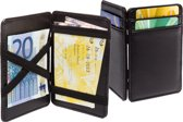 Magic Wallet Pasjes Houder Portemonnee - Money Clip - Bankpashouder & Card Protector Geld Map - 8 Pasjes