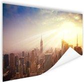 New York in december Poster 120x80 cm - Foto print op Poster (wanddecoratie woonkamer / slaapkamer) / Steden Poster