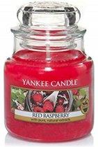 Yankee Candle Red Raspberry Small Jar Kaars in Glas