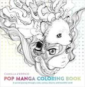 Colouring book Pop manga coloring book