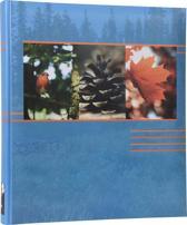 Henzo EARTH - Fotoalbum - 29 x 33 cm - Blauw - 80 Pagina's