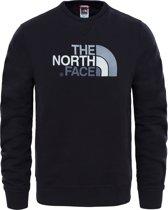 The North Face Drew Peak Crew Heren Outdoortrui - TNF Black - Maat S