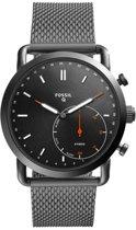Fossil Q Commuter FTW1161 - Hybride smartwatch - Gunmetal
