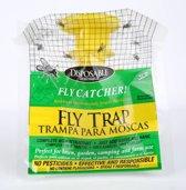 Arthentiek- Vliegenvanger- 2 stuks- effectief- voor in de tuin- vliegenval