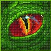 50486 DIAMOND ART(Powered by Diamond Dotz) - 20.32 x 20.32cm Kits Dragon eye