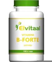 Elvitaal Vitamine B Forte 180 V-Capsules - Vitaminen